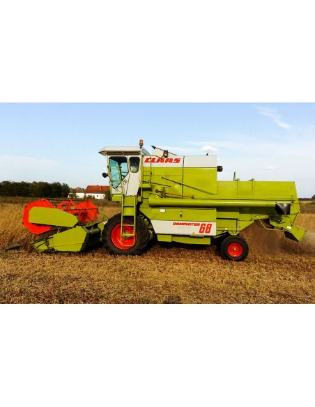 Claas Dominator 38 - 68 combine harvester technical systems manual-Claas