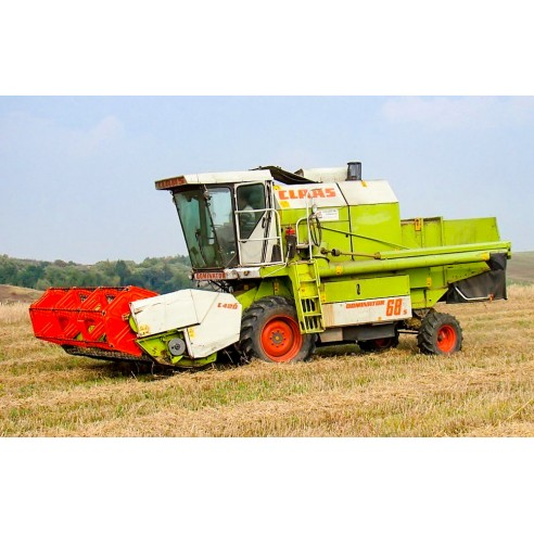 Manual del operador de la cosechadora Claas Dominator 68 S - Claas manuales