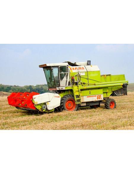 Claas Dominator 68 S combine harvester operator's manual - Claas manuals