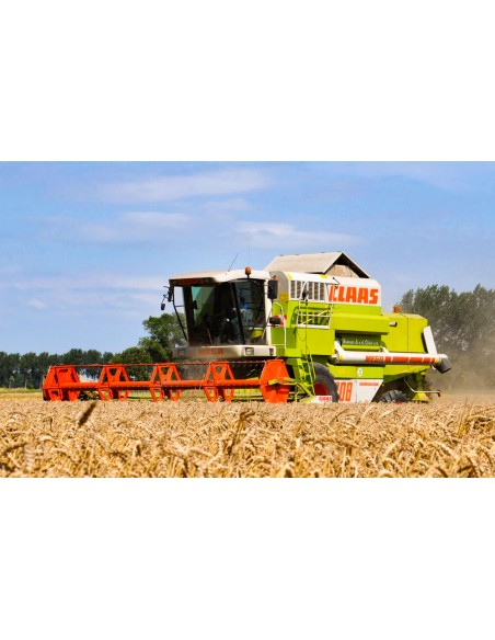 Technical systems manual for Claas Mega II 202 - 218 combine harvester, PDF-Claas