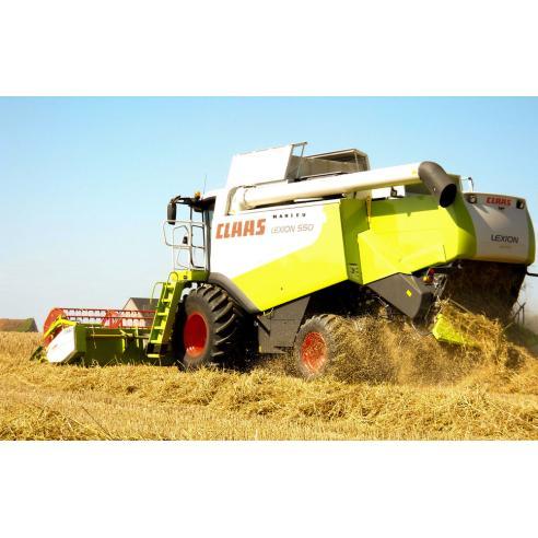 Suplemento del manual de reparación de cosechadoras combinadas Claas Lexion 560-510, 600-570 - Claas manuales