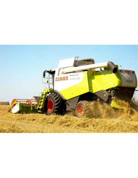 Repair manual supplement for Claas Lexion 560-510, 600-570 combine harvester, PDF-Claas