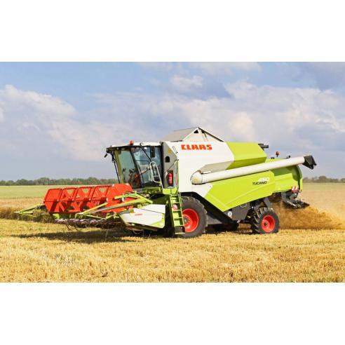 Repair manual supplement for Claas Tucano 450 Model 840 combine harvester, PDF-Claas