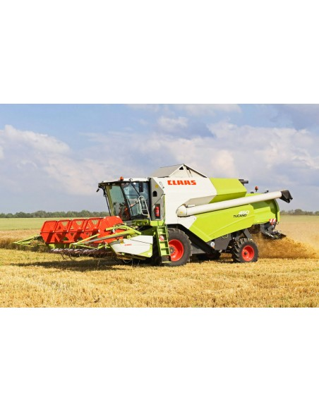 Claas Tucano 450-430 / 340-320 combine harvester technical systems manual - Claas manuals