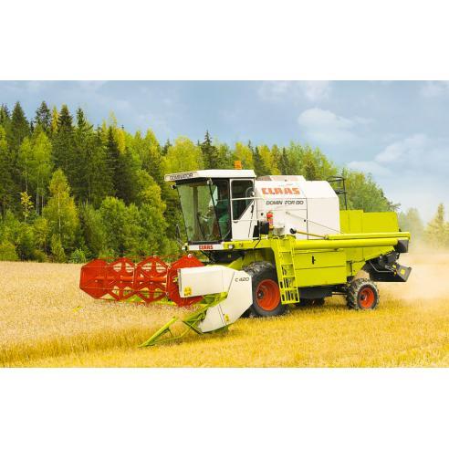 Manual de sistemas técnicos de la cosechadora claas Dominator 130 - Claas manuales