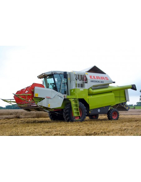 Claas Medion 340 - 310 combine harvester technical systems manual - Claas manuals