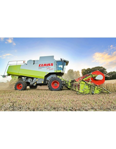 Claas Lexion 470 - 420 Montana combine harvester technical systems manual - Claas manuals