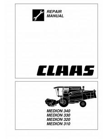 Repair manual for Claas Medion 310 - 340 combine harvester, PDF-Claas
