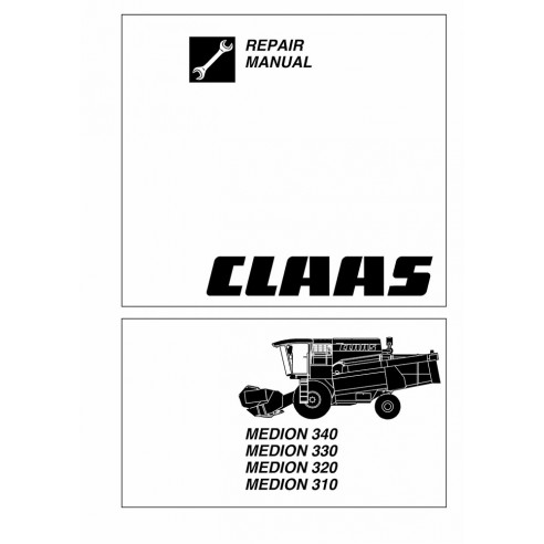 Repair manual for Claas Medion 310 - 340 combine harvester, PDF-Claas