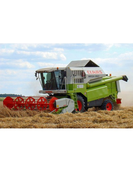 Technical systems manual for Claas Mega 360 - 350 combine harvester, PDF-Claas