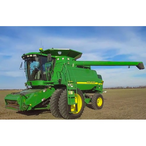 Manual del operador de cosechadoras John Deere 9450, 9550 y 9650 - John Deere manuales