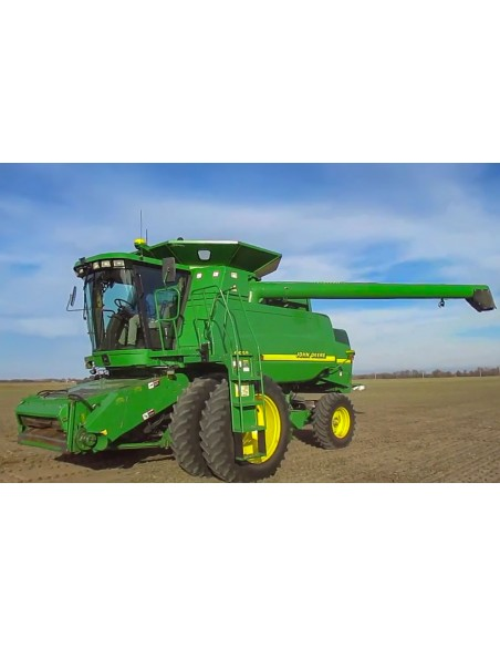 Operator's manual for John Deere 9450, 9550 and 9650 combine harvester, PDF-John Deere