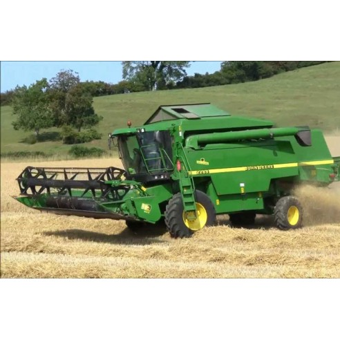 John Deere 2254, 2256, 2258, 2264, 2266 combine harvester operator's manual - John Deere manuals