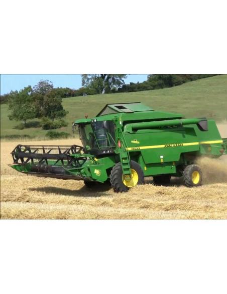 Operator's manual for John Deere 2254, 2256, 2258, 2264, 2266 combine harvester, PDF-John Deere