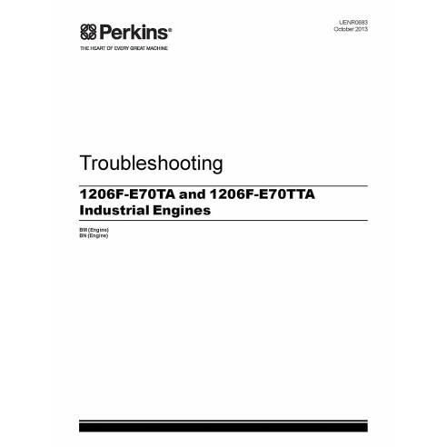Perkins 1206F-E70TA and 1206F-E70TTA engine troubleshooting manual - Perkins manuals
