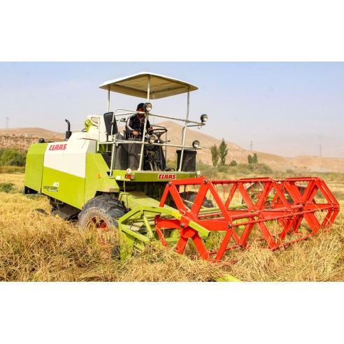 Manual del operador de la cosechadora de ruedas Claas Crop Tiger 40 - Claas manuales