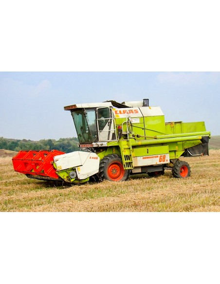 Claas Dominator 68S combine harvester operator's manual - Claas manuals