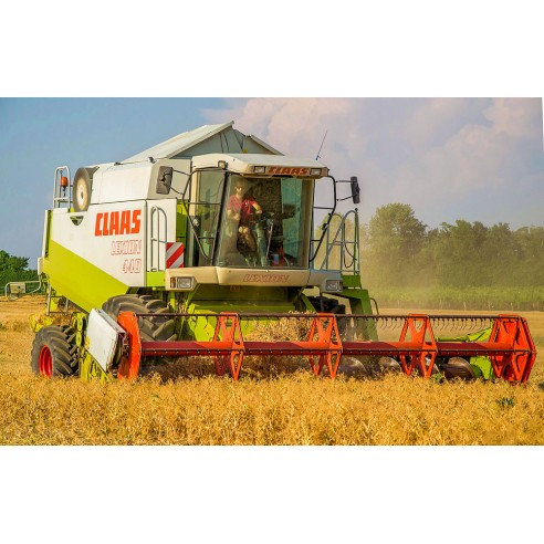 Operator's manual for Claas Lexion 410, 420, 430, 440, 450, 460 IMO combine harvester, PDF-Claas