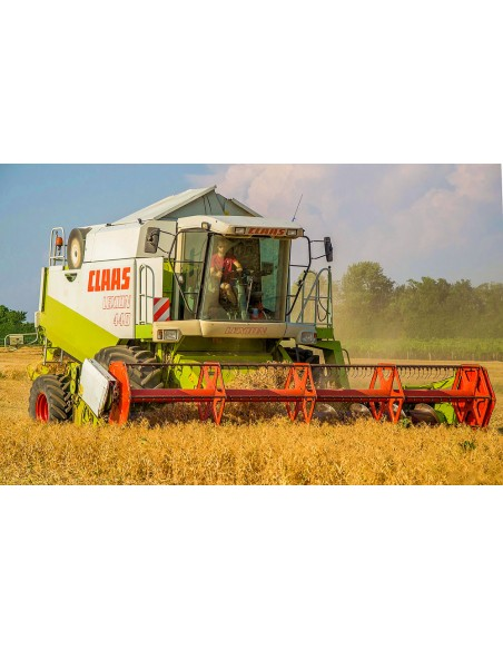 Claas Lexion 410, 420, 430, 440, 450, 460 IMO combine harvester operator's manual - Claas manuals
