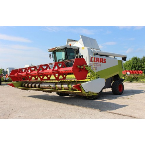 Manual del operador de la cosechadora claas Lexion 480, 470 - Claas manuales