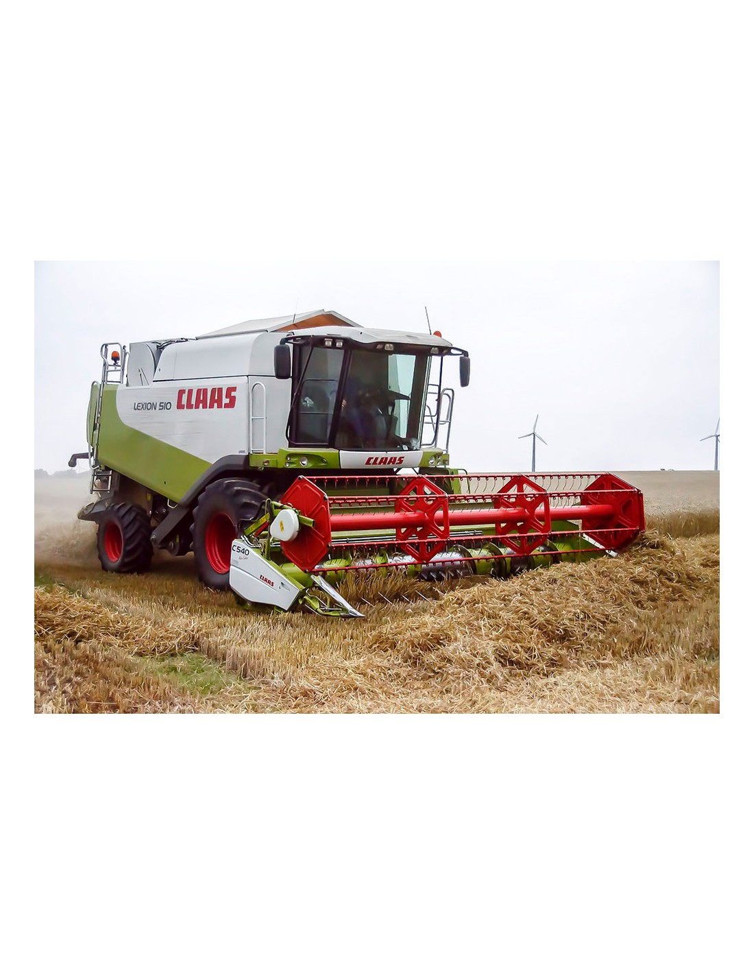 Operator's manual for Claas Lexion 560 / 550, LEXION 540 / 540 C