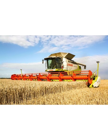 Claas Lexion 600 combine harvester operator's manual - Claas manuals