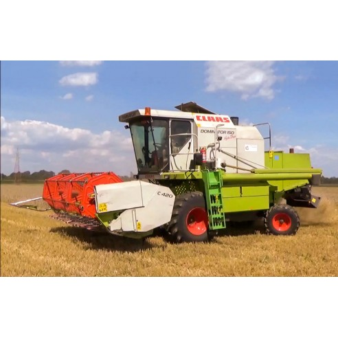 Claas Dominator 150, 140, 130 combine harvester operator's manual - Claas manuals