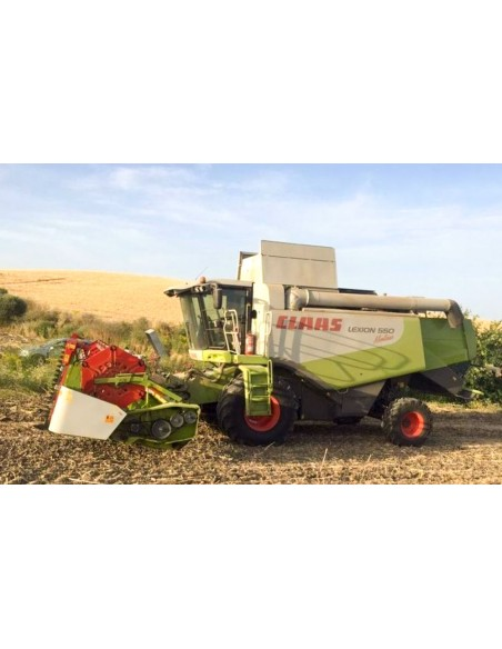 Claas Lexion 560, 550, 530, 520 Montana combine harvester operator's manual - Claas manuals