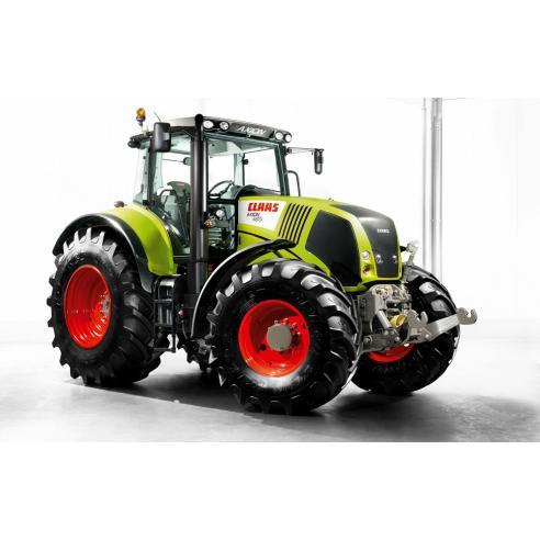 Manual del operador del tractor Claas Axion 810-820-830-840-850 CIS - Claas manuales