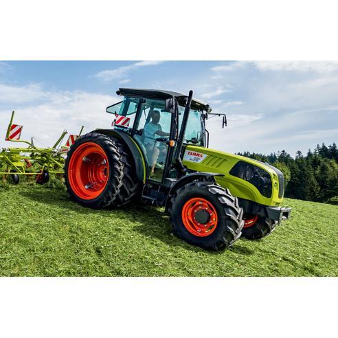 Manual del operador del tractor Claas Elios 210-220-230 - Claas manuales