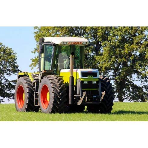 Operator's manual for Claas Xerion 2500, 3000 tractor, PDF-Claas