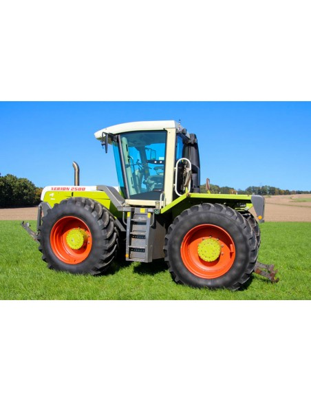 Claas Xerion 2500, 3000 tractor operator's manual - Claas manuals