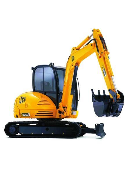 Service manual for JCB 8052, 8060 mini excavator, PDF-JCB
