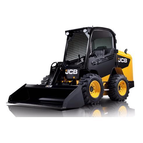 Jcb Robot 260W, 280W, 300W, 330W, 260T, 300T, 320T skid loader manual de serviço - JCB manuais