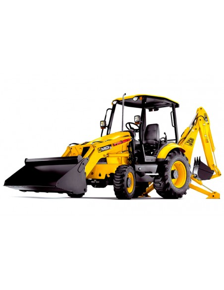Service manual for JCB midi CX backhoe loader, PDF-JCB