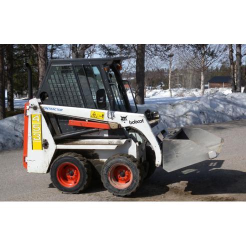 Bobcat 453 loader service manual - BobCat manuals