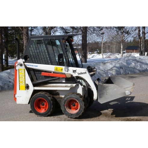 Service manual for Bobcat 453 loader, PDF-BobCat