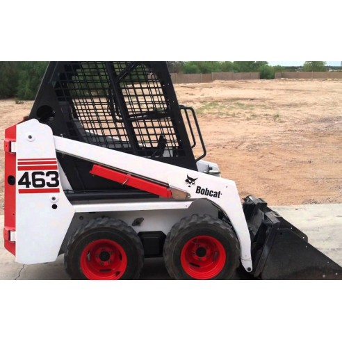 Service manual for Bobcat 463 loader, PDF-BobCat