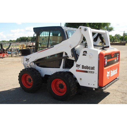Manual de serviço do carregador Bobcat 520, 530, 533 - BobCat manuais