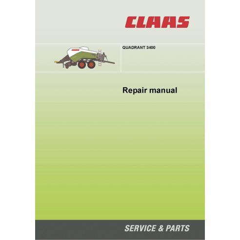 Manuel de réparation de la presse à balles Claas Quadrant 3400 - Claas manuels