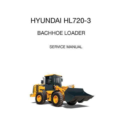 Manual de serviço da carregadeira de rodas Hyundai HL720-3 - Hyundai manuais