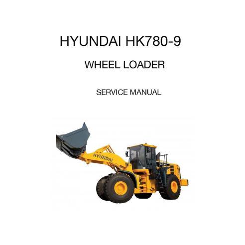 Manual de serviço da carregadeira de rodas Hyundai HL780-9 - Hyundai manuais