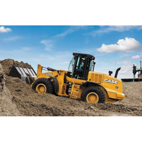 Operator's manual for Case 721E TIER 3 wheel loader, PDF-Case