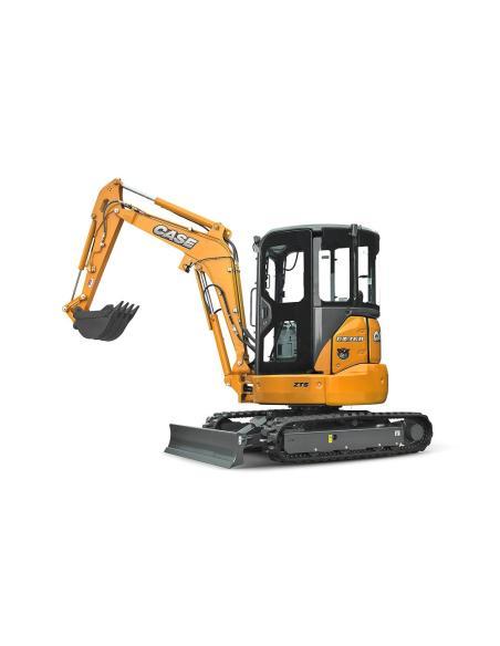 Operator's manual for Case CX31B, CX36B mini excavator, PDF-Case