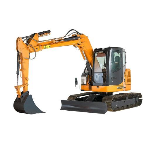Manuel de réparation mini pelle Case CX75SR, CX80 - Case manuels