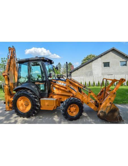 Case 580SR, 590SR, 590SR, 695SR series 3 backhoe loader service manual - Case manuals