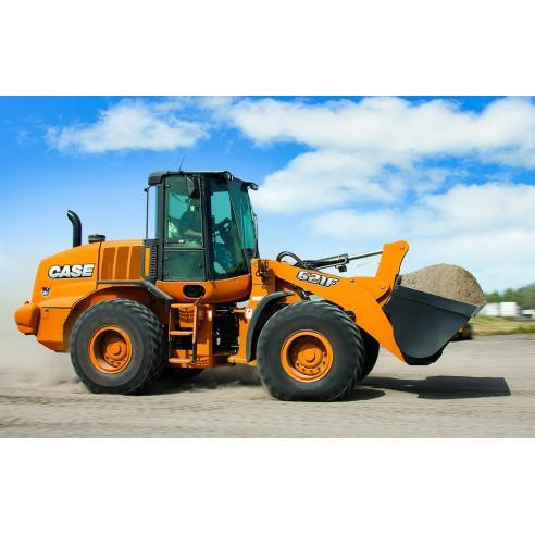 Case 621F, 721F, TIER manual de servicio del cargador de 4 ruedas - Case manuales