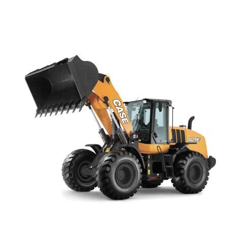 Manual de serviço da carregadeira de rodas Case 821E Tier3 - Case manuais