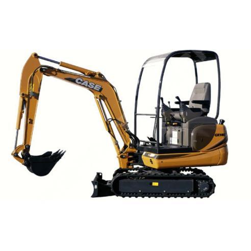 Service manual for Case CX16B, CX18B mini excavator, PDF-Case