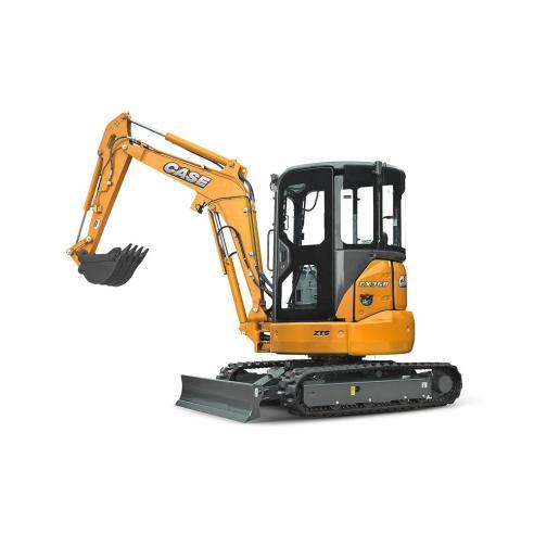 Case CX31B, CX36B mini excavator service manual - Case manuals